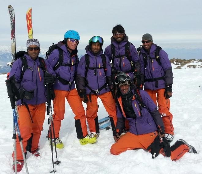The FSH Guiding Team in Gulmarg