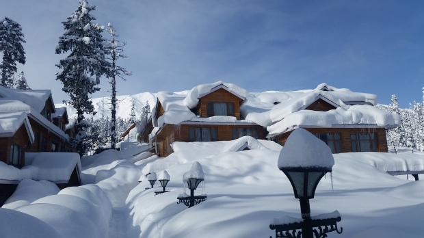 The FSH Lodge - Our Partner Hotel in Gulmarg at 2'720 m