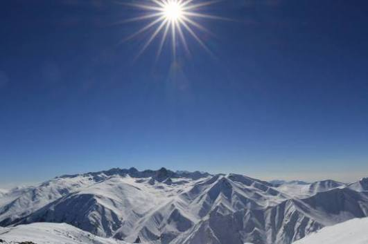 Himalaya Panorama in Gulmarg