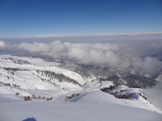 Gulmarg Backcountry Skiing